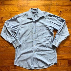 Striped Chaps Button Down Shirt
